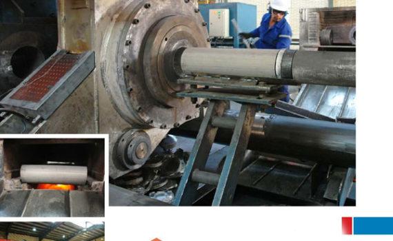 aluminum automatic bar bench Extrusion unit