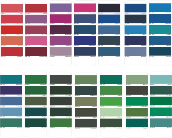 aluminum color