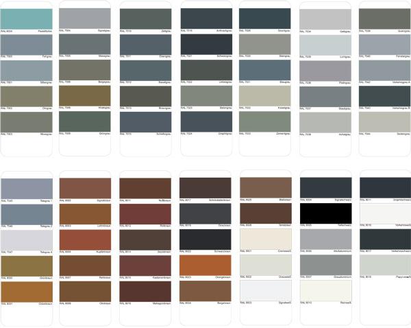 aluminum color variation